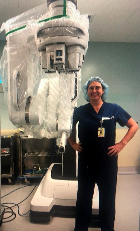 Dr. Brianna Harris, Director of Robotic and Microvascular Surgery