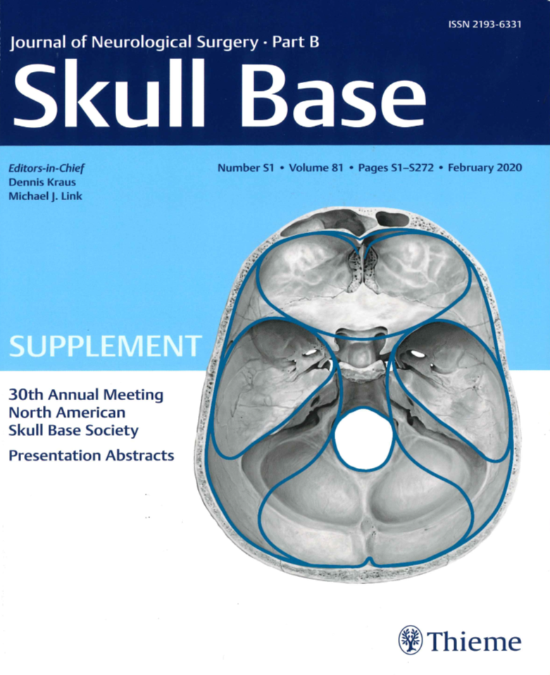 Journal of Neurological Surgery Cover
