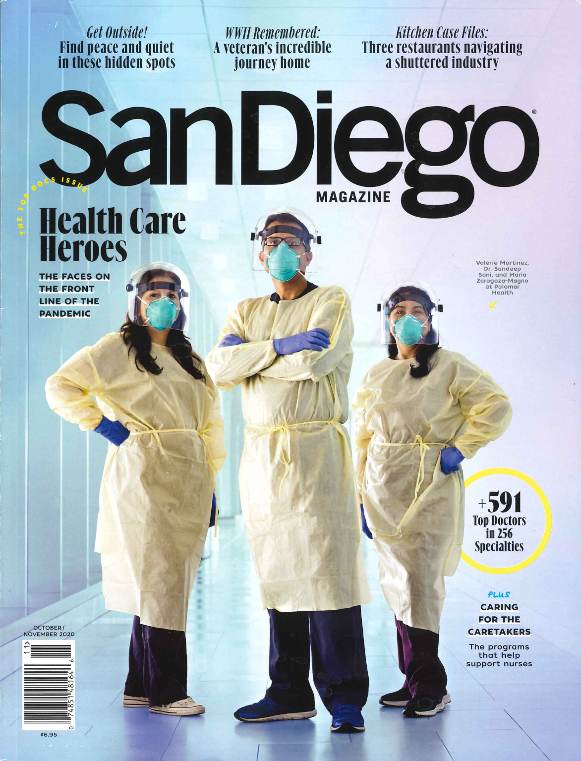 San Diego Magazine featuring Dr. Perry Mansfield